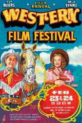 2002 Film Festival Poster, 25 W x 38 1/2 L
